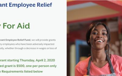 Restaurant Employee Relief Fund
